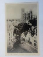 Cpa Bourges Vue Centrale,prise De L'Hôtel Des Postes - Bourges