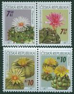 CZECH REPUBLIC 2006 Cacti Se-tenant SG 474-7 MNH Unmounted Mint - Sukkulenten