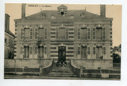 45 DOUCHY Trio D'Enfants Sur Les Marches De La Mairie écrite Vers 1920    D02 2021 - Sonstige Gemeinden