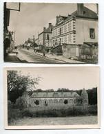 45 DOUCHY  2 Cartes Chateau De La Garrene ( Cartte Photyo R Beltier ) Et  Rue De La Mairie 1920 D02 2021 - Sonstige Gemeinden