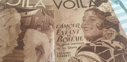 VOILA 37 /GITANS JACQUES ROBERT /MICKY MEMOIRES TRAVESTI /CONFESSIONS LA FOUCHARDIERE - 1900 - 1949