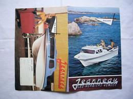 Pub Bateaux Jeanneau Palaos & Sea Bird Les Herbiers Vendée - Advertising