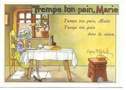CPM - CENTENAIRE Editions - LES CHANSONS FRANCAISES - 15 - Trempe Ton Pain, Marie - Dessin De H.GERBAULT - Fiabe, Racconti Popolari & Leggende