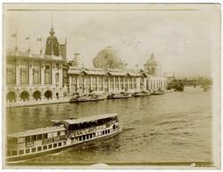 Paris. Exposition Universelle De 1900. Le Globe Terrestre. Globe Céleste. Tirage Citrate. - Old (before 1900)