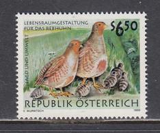Austria 1999 - Hunting And The Environment: Birds, Mi-Nr. 2281, MNH** - 1991-00 Nuevos & Fijasellos