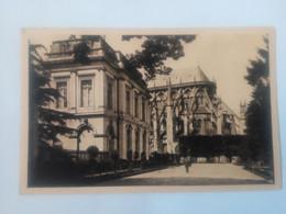 Cpa Bourges L'hôtel De Ville Et L'Abside De La Cathédrale - Bourges