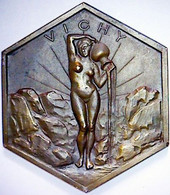 Ville & Source De Vichy. Médaille. - Andere