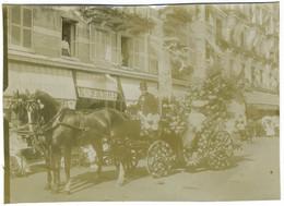 Fête Des Fleurs à Trouville-sur-Mer (Calvados). Normandie. Tirage Citrate Circa 1900. - Old (before 1900)