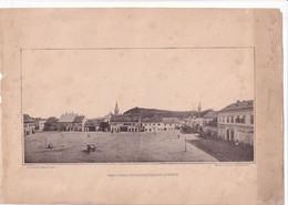 A8729 - DEJ DEES VAROS FOTERENEK EGY RESZLETE CLUJ ROMANIA OLD TRANSIVANIA/UNGARIA OLD ORIGINAL PHOTO BIG SIZE - Old (before 1900)