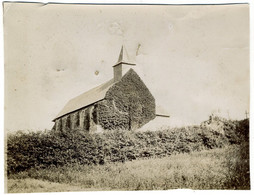 L'Église De Benerville-sur-Mer (Calvados). Normandie. Tirage Citrate Circa 1900. - Old (before 1900)