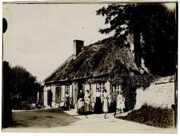 Maison à Blonville-sur-Mer (Calvados). Normandie. Tirage Citrate Circa 1900. - Old (before 1900)