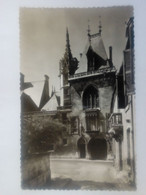 Cpsm Bourges Façade Du Palais Jacques Coeur - Bourges