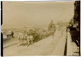 Cirque Pinder à Villers-sur-Mer (Calvados). Normandie. Cavalcade. Circus. Tirage Citrate Circa 1900. Rare. - Old (before 1900)
