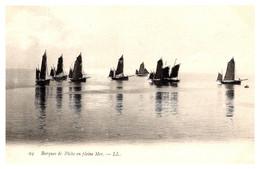 Viêt-Nam - Indochine - Barques En Pleine Mer - Vietnam