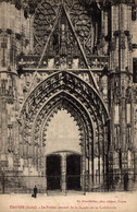 NIM 29452   TROYES  LE PORTAIL CENTRAL DE LA FACADE DE LA CATHEDRALE - Troyes