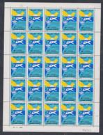 Maroc N° 981 XX 40è Annive. De L' O. A. C. I. , La  Feuille De 25 Timbres, Sans Charnière, TB - Morocco (1956-...)