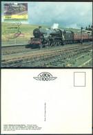 Tuvalu 1984 Maximum Card British Train 1934 - Tuvalu