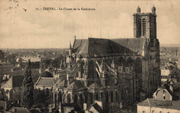 NIM 29460   TROYES  LE CHEVET DE LA CATHEDRALE - Troyes