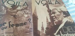 VOILA 37/ BRETAGNE DIEU FOLGOET/SOLDAT FRANCAIS/FOUET GEO LONDON/LEGION ETRANGERE TIHANY/HOMME FEMME /FERNANDEL RAIMU - 1900 - 1949