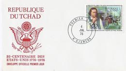 Tsjaad FDC Bicentennial USA 1976 (2108) - Chad (1960-...)