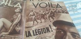 VOILA 37/LEGION ETRANGERE TIHANY/ /BOXEUR AL BROWN COCTEAU/HOTESSES DE L AIR - 1900 - 1949
