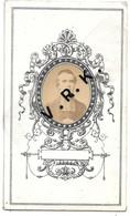 Maître Isidore BROGNET , Curé De Saint Rémy Mal Bâti Pendant 22 Ans , + Le 23/5/1882 à 58 Ans , Imp. Maubeuge - Esquela