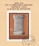 ROMANIA 3191,used - Hojas Bloque