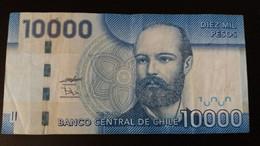 BILLETE DE CHILE DE 10000 PESOS DEL AÑO 2009  (BANKNOTE) - Chile