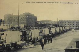 CPA. BORDEAUX - Une Expédition De 10 Monoplans BLERIOT Par Voie Ferrée - BE - ....-1914: Precursores