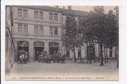 CP 75 Sapeurs Pompiers De Paris La Caserne De La Rue Violet - Other