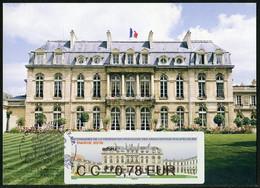 FRANCE (2018). Carte Maximum Card - ATM LISA 91 Congrès FFAP - Palais De L'Elysée, Paris, Jardins - 2010-...