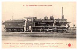 Vietnam - Indochine - Machine N°313 Des Chemins De Fer - Vietnam
