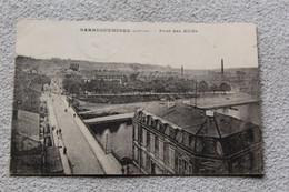 Cpa 1923, Sarreguemines, Pont Des Alliés, Moselle 57 - Sarreguemines