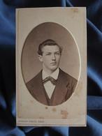 Photo CDV Kohler-Dietz à Mulhouse  Portrait Jeune Homme Blond  CA 1875-80 - L556 - Old (before 1900)