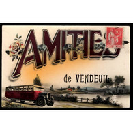 02 - VENDEUIL (Aisne) - Amitiés De Vendeuil - Other Municipalities