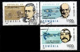 1998 Rumania Personajes Siglo XX Marconi-bleriot-coanda 3v. - Usado