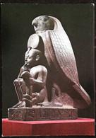 ►     Paris Grand Palais Exposition Ramses Le Grand 1976 Le Dieu Faucon Houroun Protègeant Ramsès II Enfant - Non Classificati