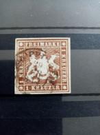 WURTEMBERG.1857. N° 6 Oblitéré . Côte YT 2020 : 110,00 € - Wurtemberg