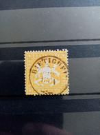 WURTEMBERG.1859. N° 17A Oblitéré Papier Mince . Côte YT 2020 : 65,00 € - Wurtemberg