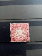 WURTEMBERG.1859. N° 19B Oblitéré Papier épais. Signé BRUN . Côte YT 2020 : 165,00 € - Wurtemberg