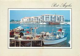 66 - Argelès Sur Mer - Le Port - Bateaux - CPM - Voir Scans Recto-Verso - Argeles Sur Mer