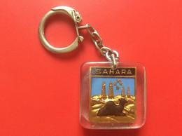 PORTE-CLÉS  SAHARA  Transports  MASERATI MARIUS  Djelfa  ALGERIE  Dromadaire   17 - Key-rings