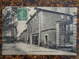 LE GRAND LEMPS 1914 - GRANDE RUE - Sonstige Gemeinden