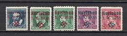 1938 Sudetenland Karlsbad Mi 6-9 (geprüft Mahr BPP) Postfrisch - Sudetenland