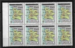 """ANGOLA 1976 STAMP DAY """"6"""" Broken MNH - Angola"""