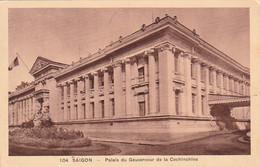 ***VIET NAM  *** Saigon Palais Du Gouverneur - TTB écrite - Vietnam