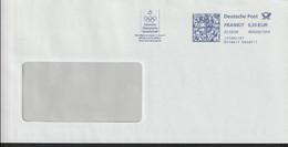 Germany Cover W/Meter  202008 Deutsche Olympische Geschellschaft  - AFS (LG23) - Other