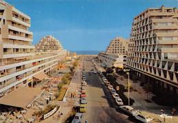 La Grande Motte Voitures Citroën Ami Dyane DS Avenue Du Casino Cim 233 - Otros Municipios