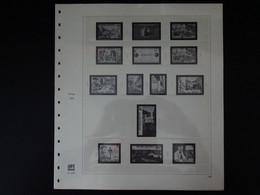 Europa Pages Safe Dual 1983 à 1984 (17 Pages Préimprimées Avec Pages Plastiques Pour Le Classement Des Timbres) - Pre-printed Pages