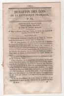 1848 BULLETIN DES LOIS N°84 - RETRAITE EMPLOYES EX CHAMBRE DES PAIRS - PUBLICITE DEBATS ASSEMBLEE - EX LISTE CIVILE - Decretos & Leyes